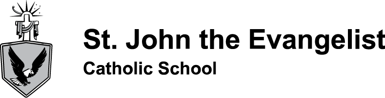 St. John the Evangelist Catholic School Logo